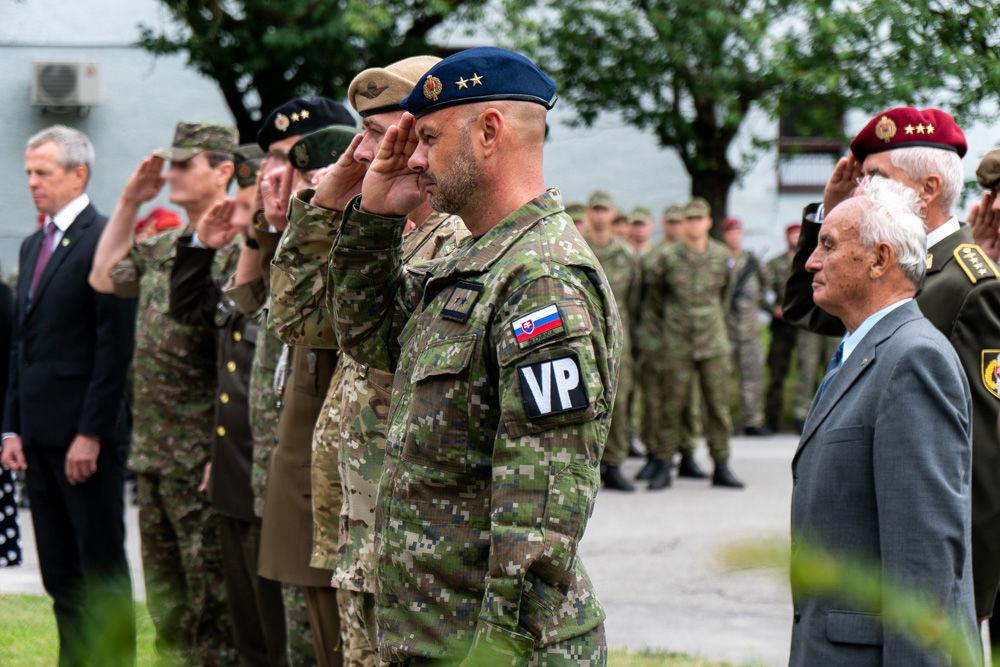 FOTO: Výmena veliteľa 5. pluku špeciálneho určenia v Žiline, foto 30