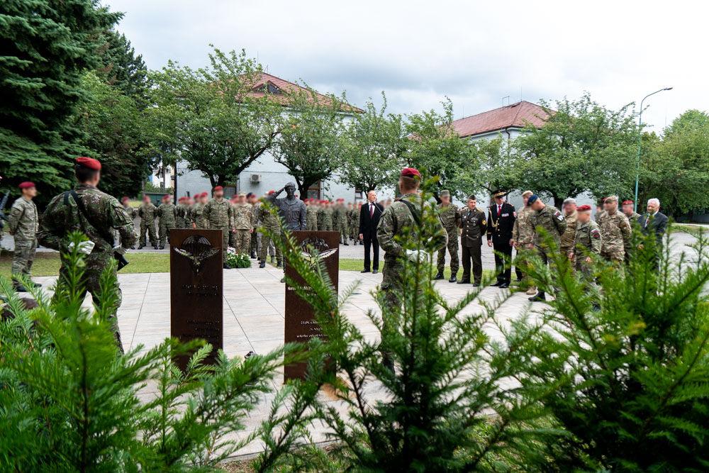 FOTO: Výmena veliteľa 5. pluku špeciálneho určenia v Žiline, foto 23