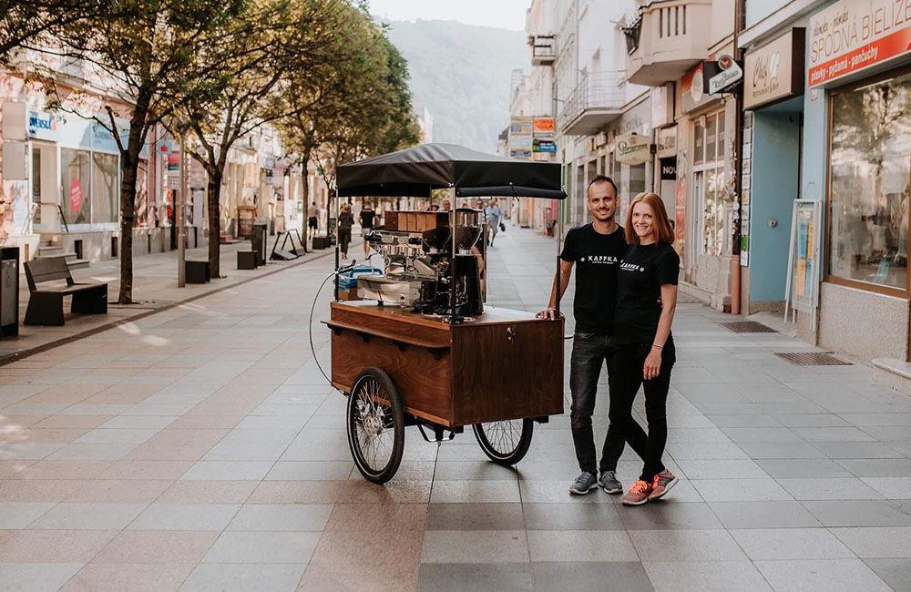 Prvá pojazdná kaviareň v Žiline KAFFKA, foto 5