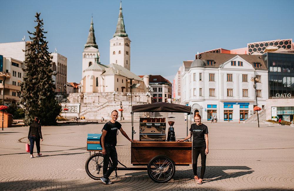 Prvá pojazdná kaviareň v Žiline KAFFKA, foto 6