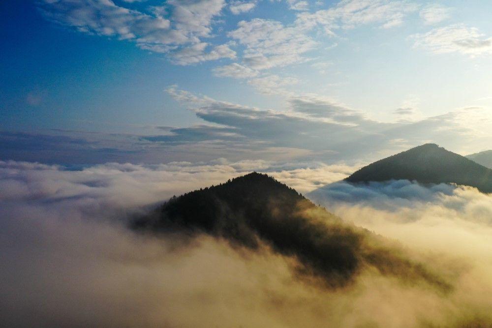FOTO+VIDEO: Teplotná inverzia nad obcou Višňové pri Žiline, foto 3