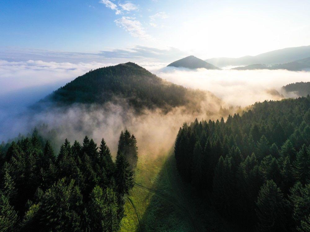 FOTO+VIDEO: Teplotná inverzia nad obcou Višňové pri Žiline, foto 8
