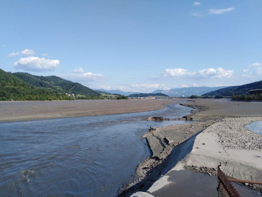 FOTO: Vypustená vodná nádrž Hričov , foto 8