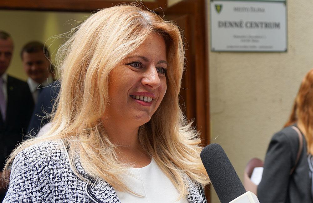 FOTO: Návšteva prezidentky SR Zuzany Čaputovej v Žiline - Denné centrum a Denný stacionár Vlčince, foto 1