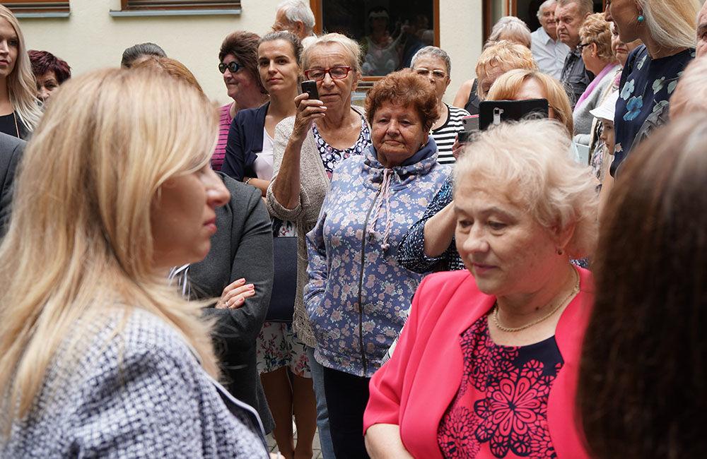 FOTO: Návšteva prezidentky SR Zuzany Čaputovej v Žiline - Denné centrum a Denný stacionár Vlčince, foto 2