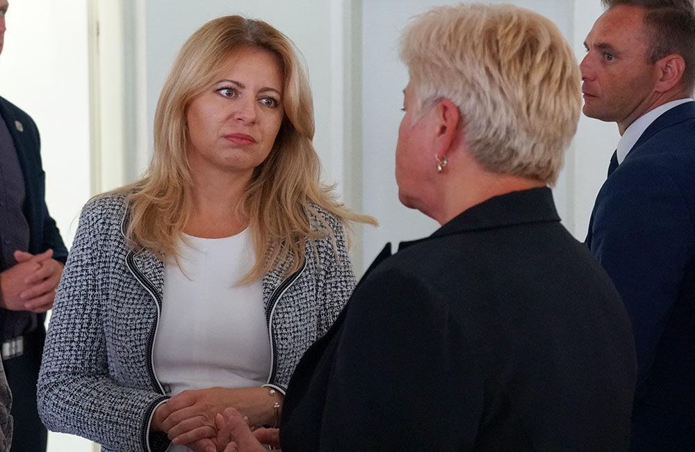 FOTO: Návšteva prezidentky SR Zuzany Čaputovej v Žiline - Denné centrum a Denný stacionár Vlčince, foto 3