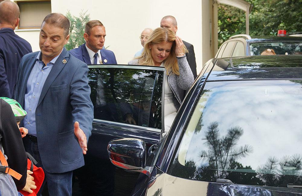 FOTO: Návšteva prezidentky SR Zuzany Čaputovej v Žiline - Denné centrum a Denný stacionár Vlčince, foto 8