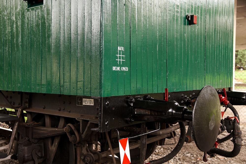 Historický rušeň a vozne v Žiline - 120. výročie Rajeckej Anče, foto 19