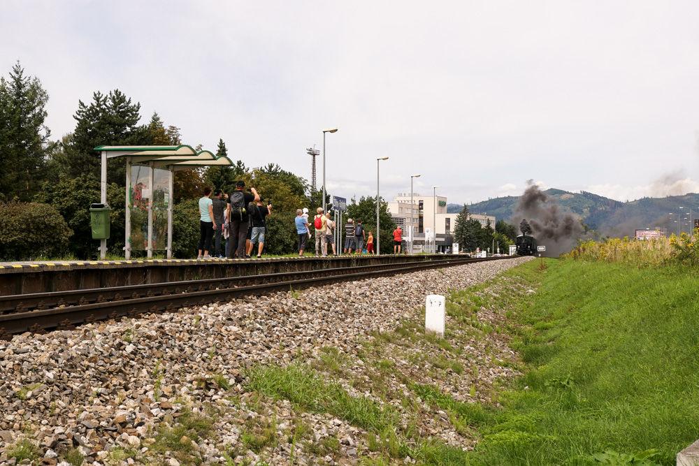 Historický rušeň a vozne v Žiline - 120. výročie Rajeckej Anče, foto 1