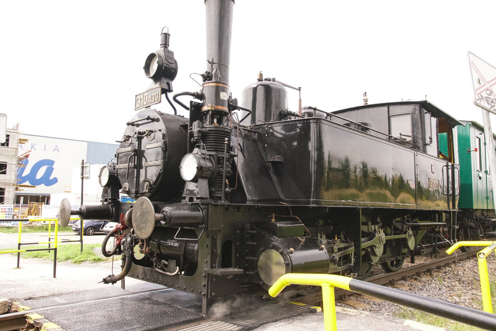 Historický rušeň a vozne v Žiline - 120. výročie Rajeckej Anče, foto 9