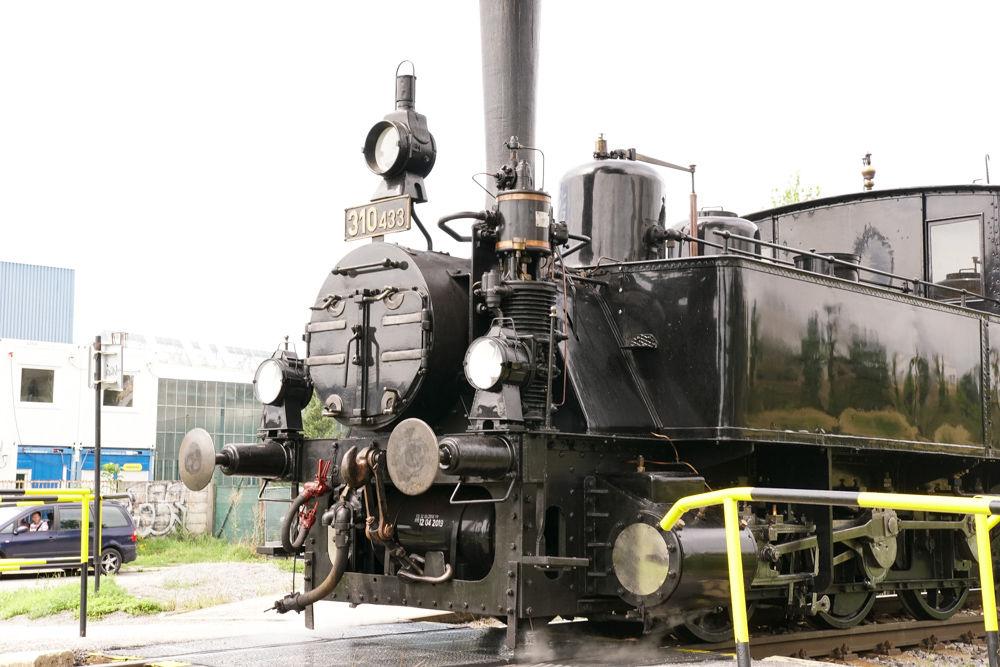 Historický rušeň a vozne v Žiline - 120. výročie Rajeckej Anče, foto 7