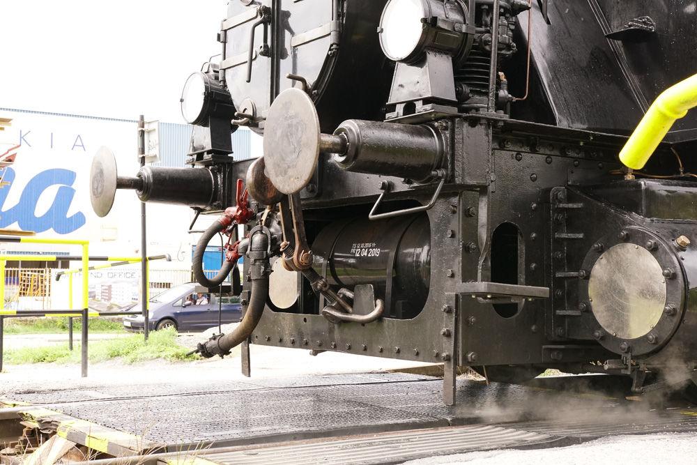 Historický rušeň a vozne v Žiline - 120. výročie Rajeckej Anče, foto 8