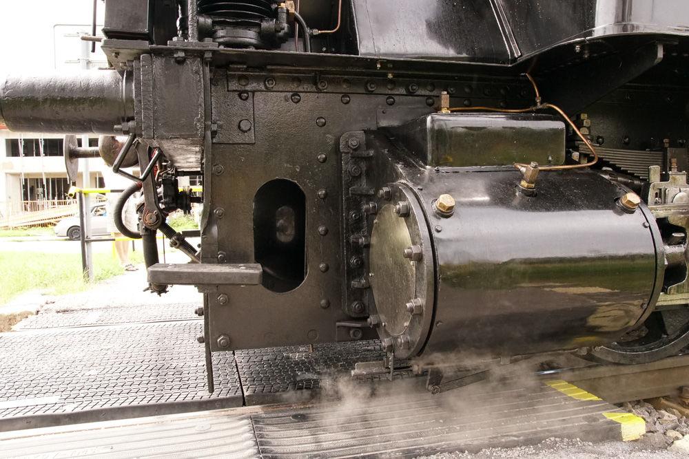 Historický rušeň a vozne v Žiline - 120. výročie Rajeckej Anče, foto 12