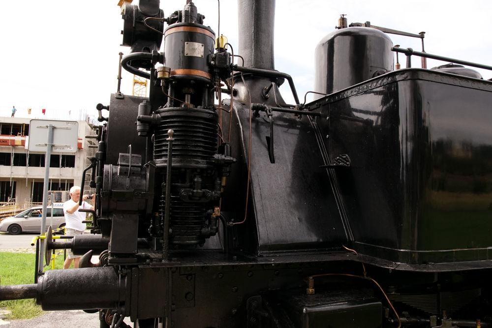 Historický rušeň a vozne v Žiline - 120. výročie Rajeckej Anče, foto 13