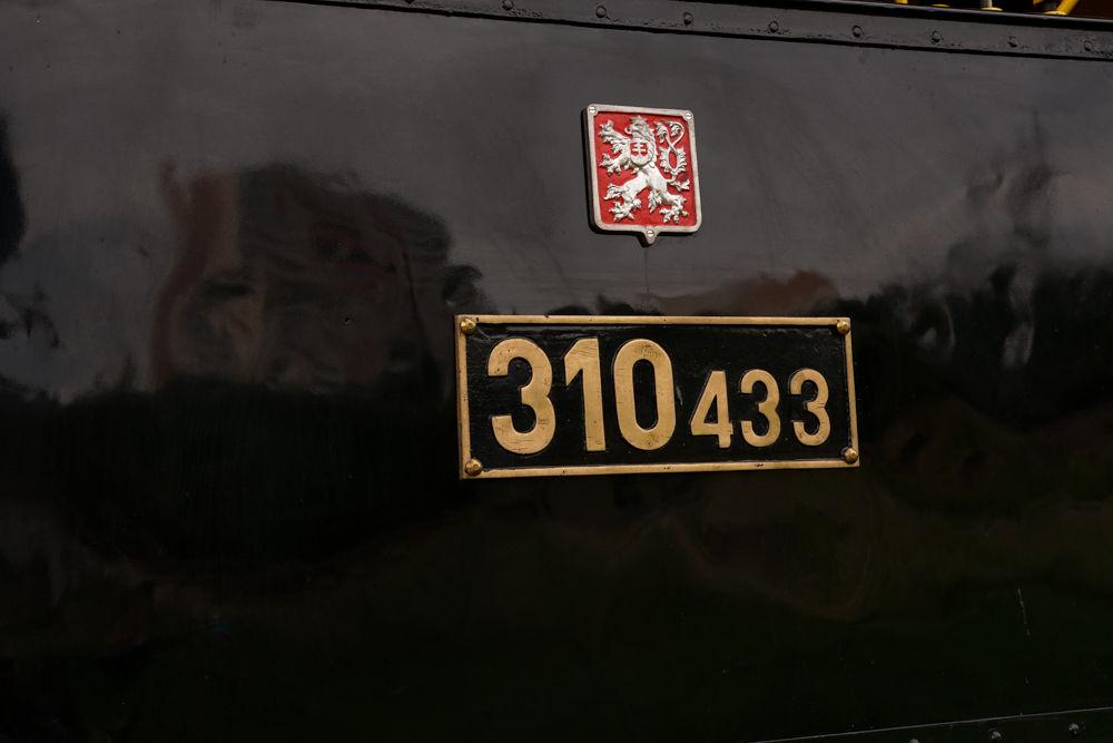 Historický rušeň a vozne v Žiline - 120. výročie Rajeckej Anče, foto 15