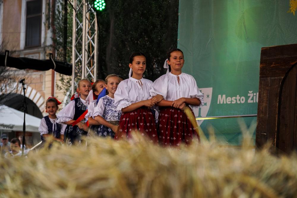 FOTO: Na Mariánskom námestí v Žiline prebiehajú Žilinské Dožinky 2019, foto 2