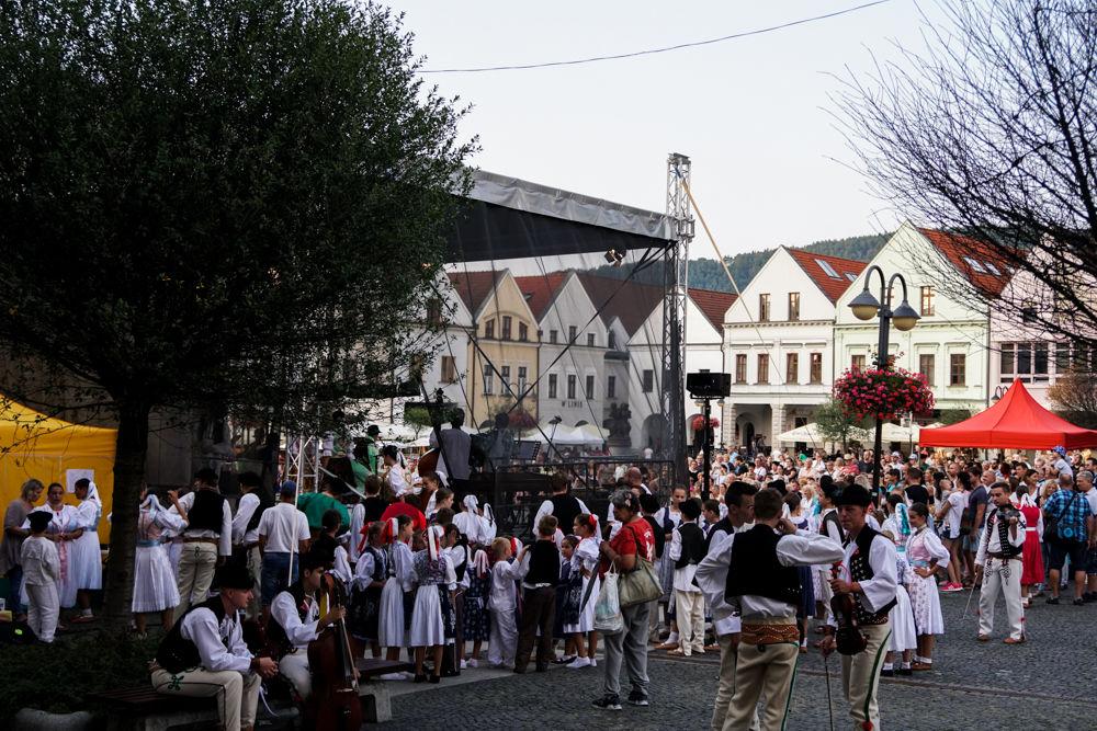 FOTO: Na Mariánskom námestí v Žiline prebiehajú Žilinské Dožinky 2019, foto 16