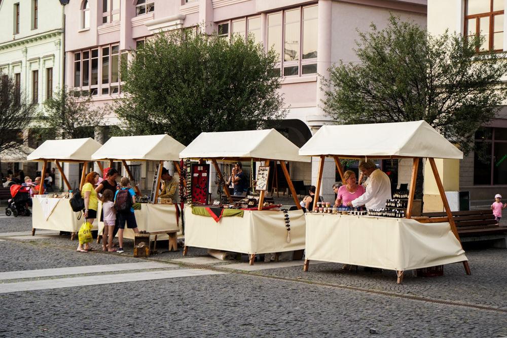 FOTO: Na Mariánskom námestí v Žiline prebiehajú Žilinské Dožinky 2019, foto 17