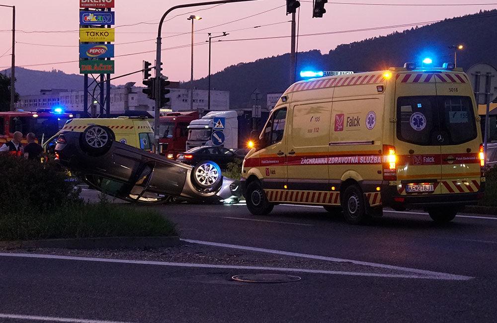 Dopravná nehoda Košická ulica 23.8.2019, foto 1