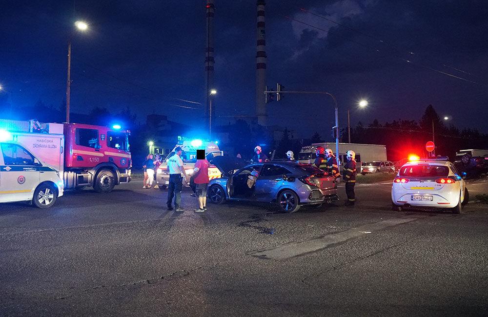 Dopravná nehoda Košická ulica 23.8.2019, foto 6