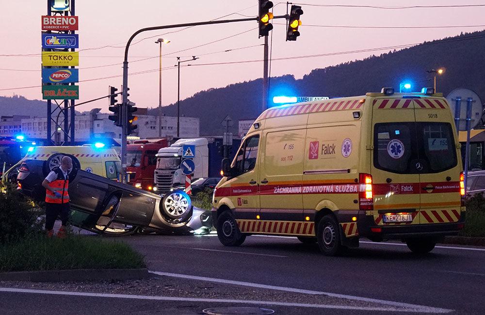 Dopravná nehoda Košická ulica 23.8.2019, foto 4