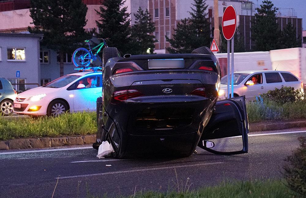 Dopravná nehoda Košická ulica 23.8.2019, foto 2