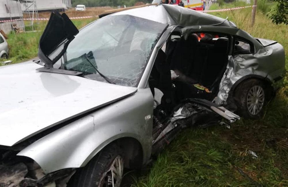 FOTO: V nedeľu došlo na Orave k zrážke dvoch áut, pri nehode vyhasli štyri mladé životy, foto 1
