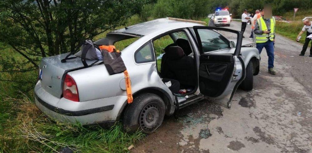 Tragická dopravná nehoda v obci Zábiedovo 25.8.2019, foto 3