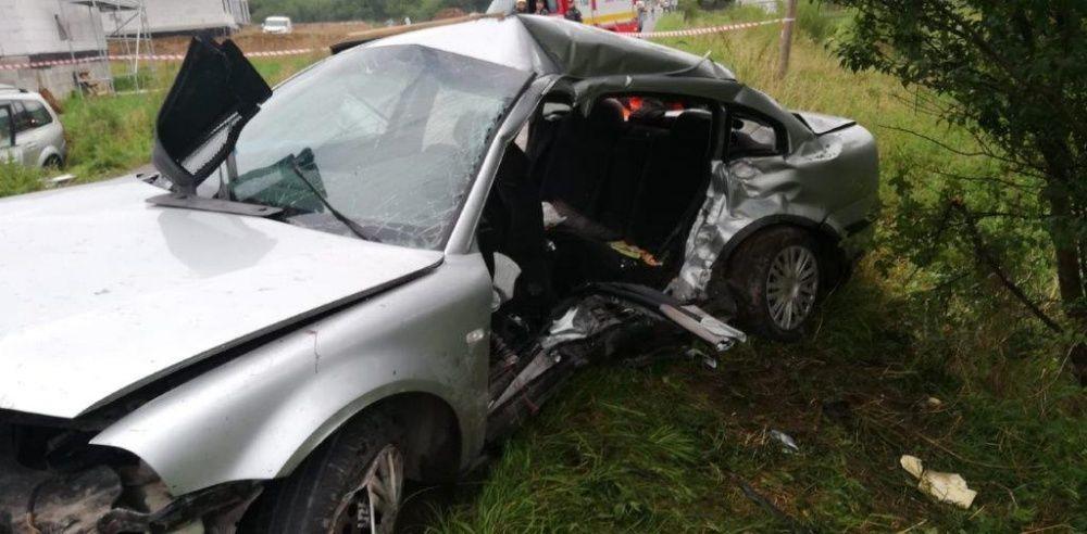 Tragická dopravná nehoda v obci Zábiedovo 25.8.2019, foto 4