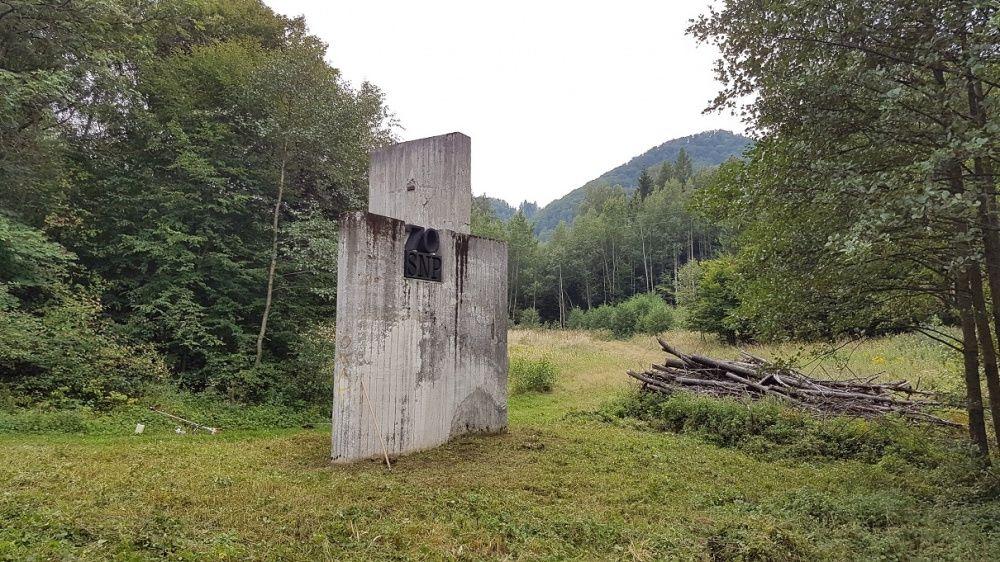 Starostlivosť o pamätník SNP pri Dubnej Skale, foto 5