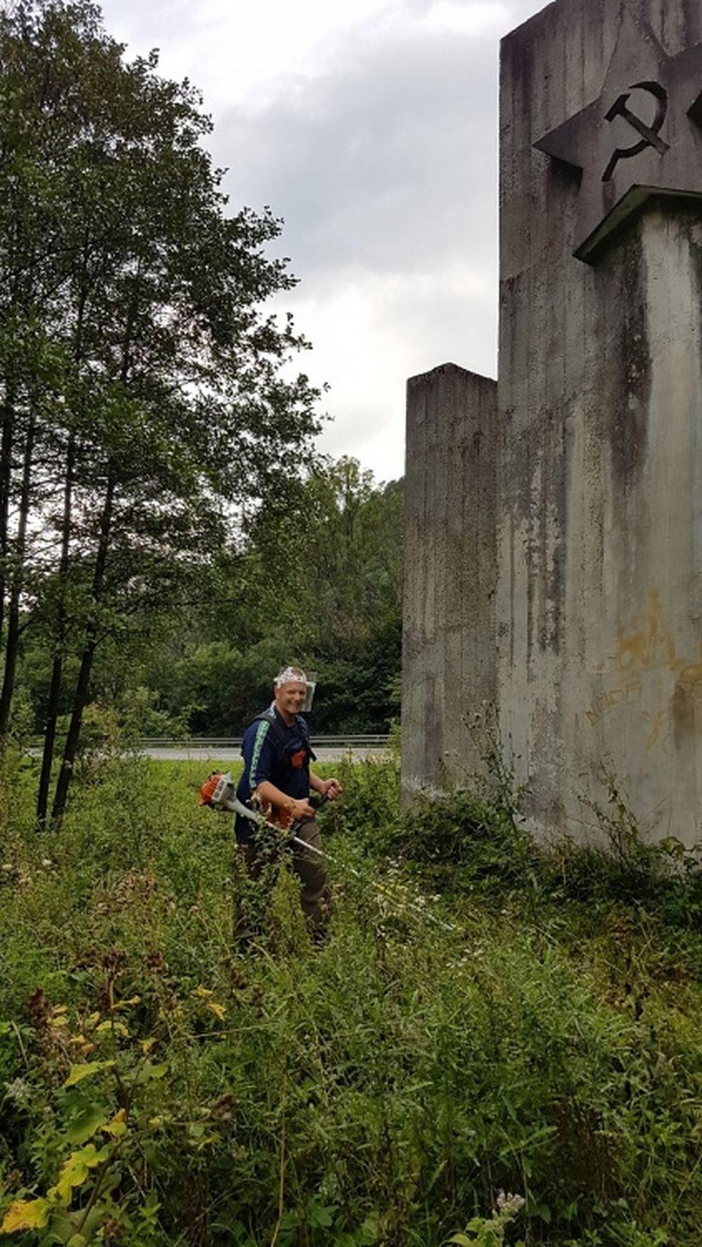 Starostlivosť o pamätník SNP pri Dubnej Skale, foto 4