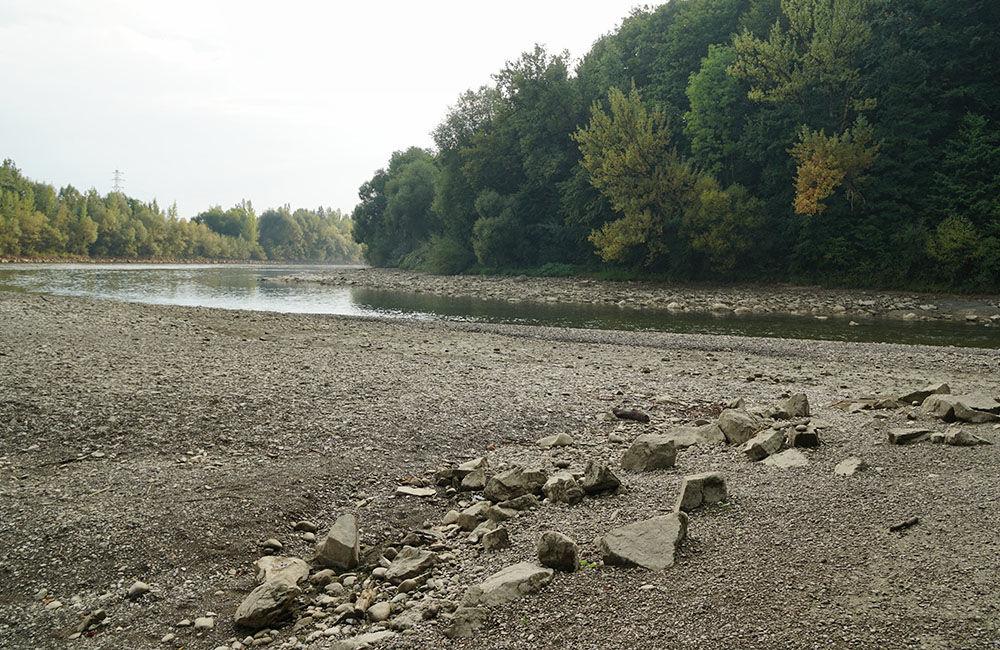 FOTO: Vypustený derivačný kanál Hričov - Mikšová - Považská Bystrica, foto 3