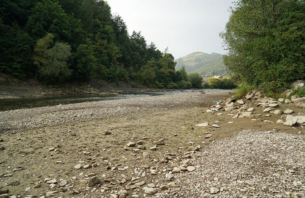 FOTO: Vypustený derivačný kanál Hričov - Mikšová - Považská Bystrica, foto 4
