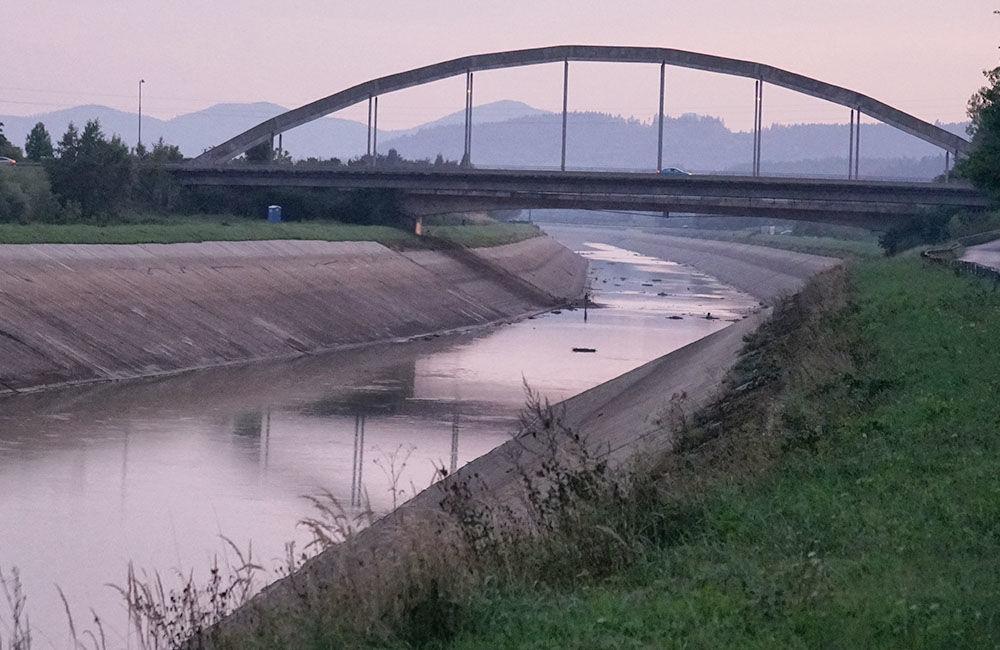 FOTO: Vypustený derivačný kanál Hričov - Mikšová - Považská Bystrica, foto 21