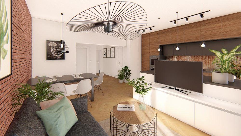 Rezidenčný projekt RETRO - vizualizácie interiéru, foto 1