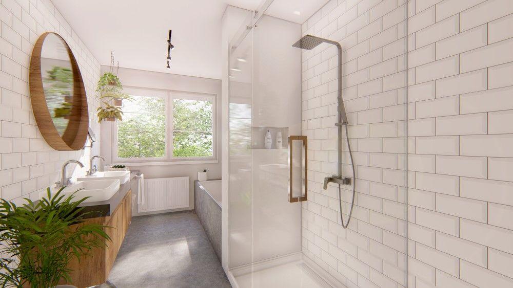 Rezidenčný projekt RETRO - vizualizácie interiéru, foto 13
