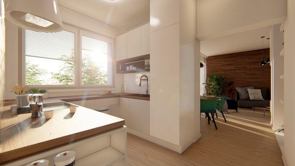 Rezidenčný projekt RETRO - vizualizácie interiéru, foto 6