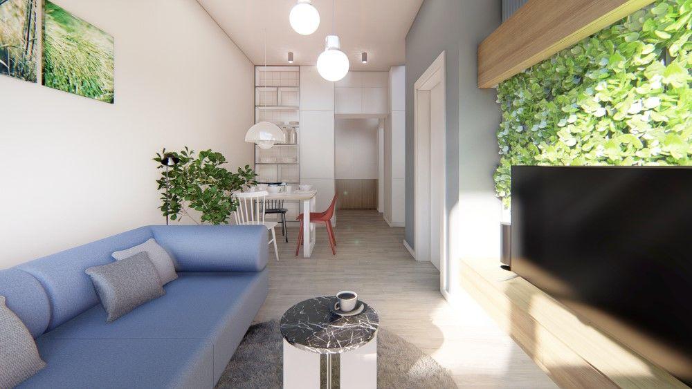 Rezidenčný projekt RETRO - vizualizácie interiéru, foto 8