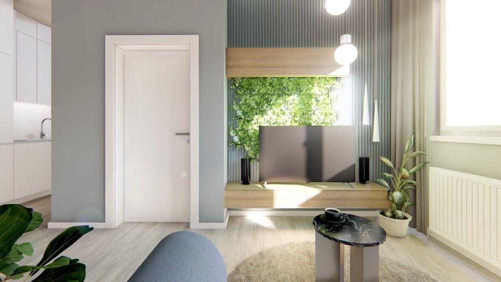 Rezidenčný projekt RETRO - vizualizácie interiéru, foto 9