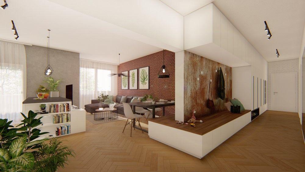 Rezidenčný projekt RETRO - vizualizácie interiéru, foto 14