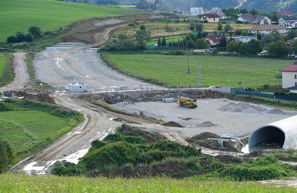 FOTO: Aktuálny stav prác na stavbe diaľničného privádzača 10.9.2019, foto 11