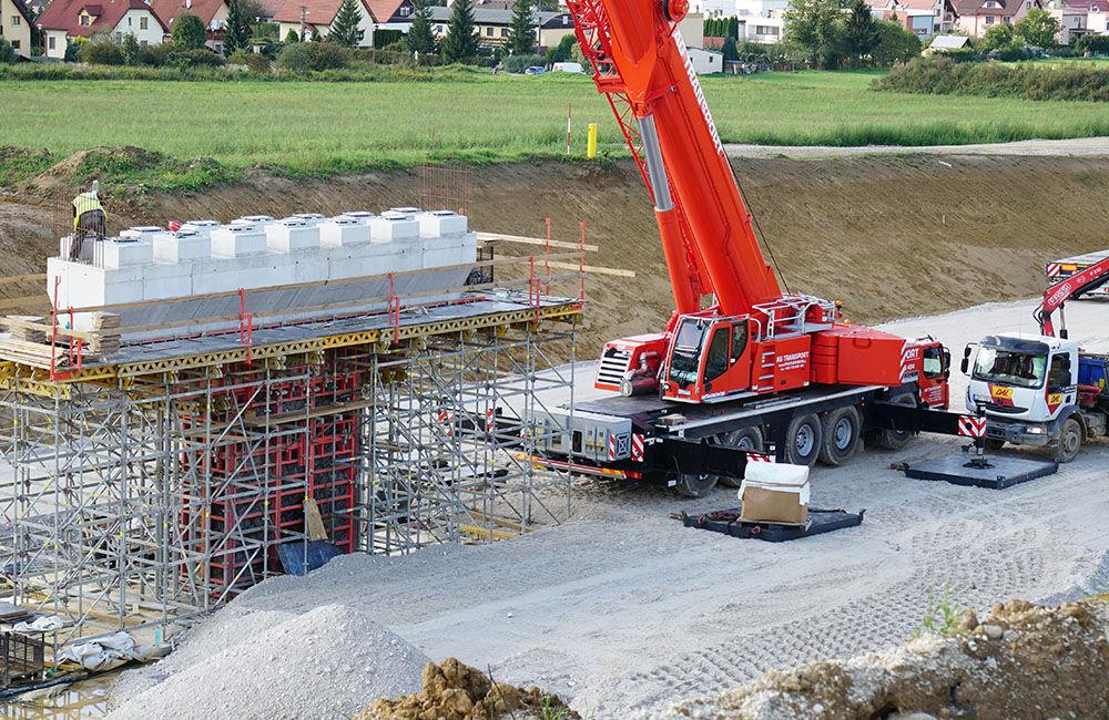 FOTO: Aktuálny stav prác na stavbe diaľničného privádzača 10.9.2019, foto 2
