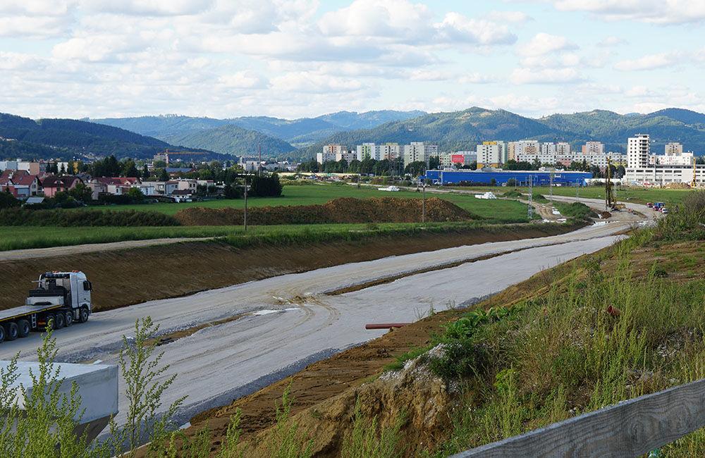 FOTO: Aktuálny stav prác na stavbe diaľničného privádzača 10.9.2019, foto 7