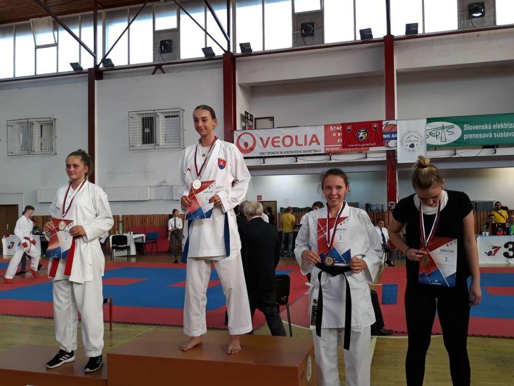 Úspechy žilinčanov na 1. kole slovenského pohára dorastencov a juniorov v karate v Košiciach, foto 3