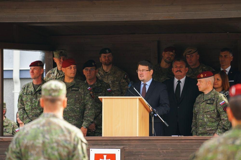 FOTO: Slávnostný akt prepodriadenia útvarov do pôsobnosti veliteľstva Síl pre špeciálne operácie, foto 19