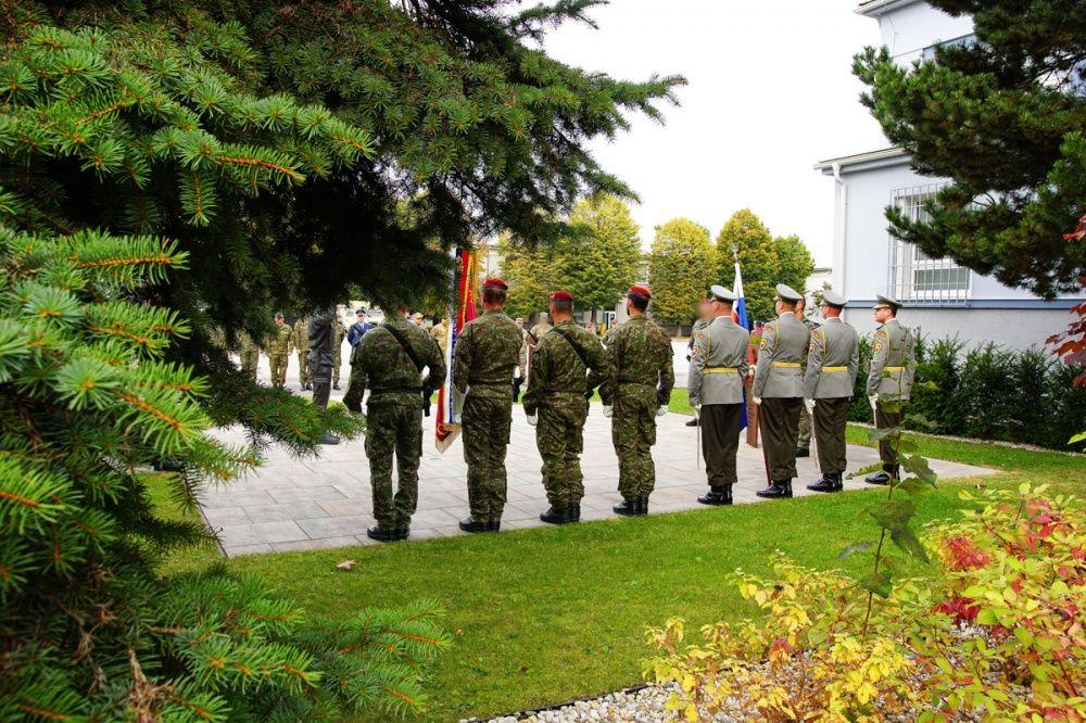 FOTO: Slávnostný akt prepodriadenia útvarov do pôsobnosti veliteľstva Síl pre špeciálne operácie, foto 3