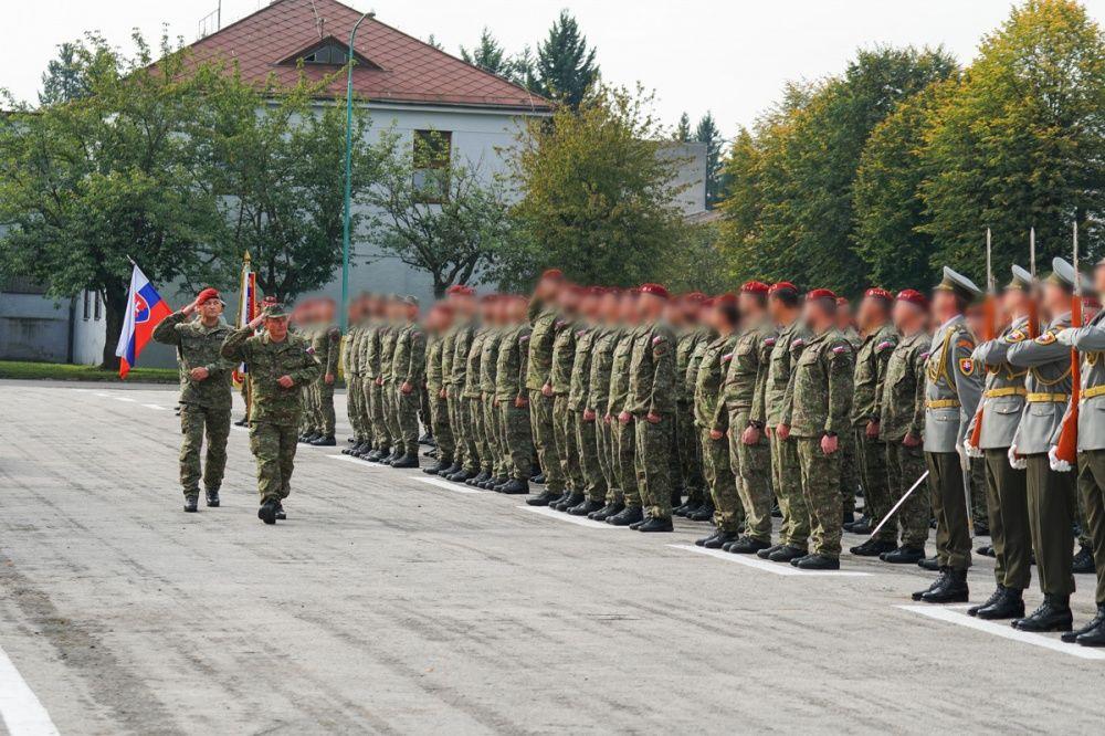 FOTO: Slávnostný akt prepodriadenia útvarov do pôsobnosti veliteľstva Síl pre špeciálne operácie, foto 15