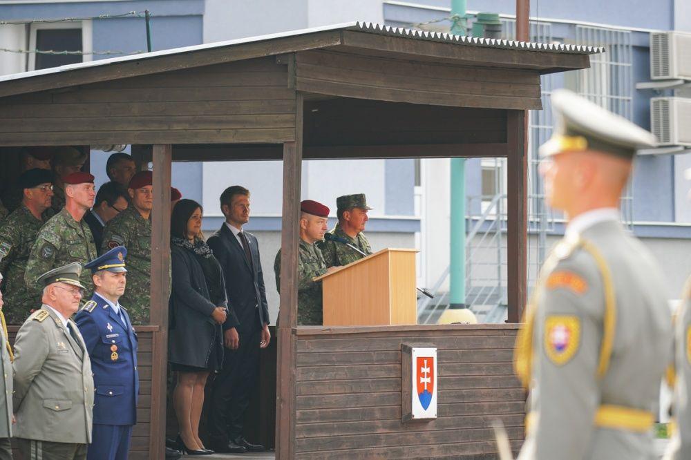 FOTO: Slávnostný akt prepodriadenia útvarov do pôsobnosti veliteľstva Síl pre špeciálne operácie, foto 18