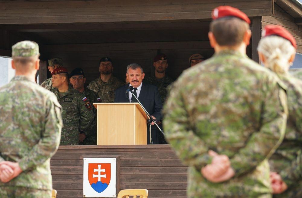 FOTO: Slávnostný akt prepodriadenia útvarov do pôsobnosti veliteľstva Síl pre špeciálne operácie, foto 20