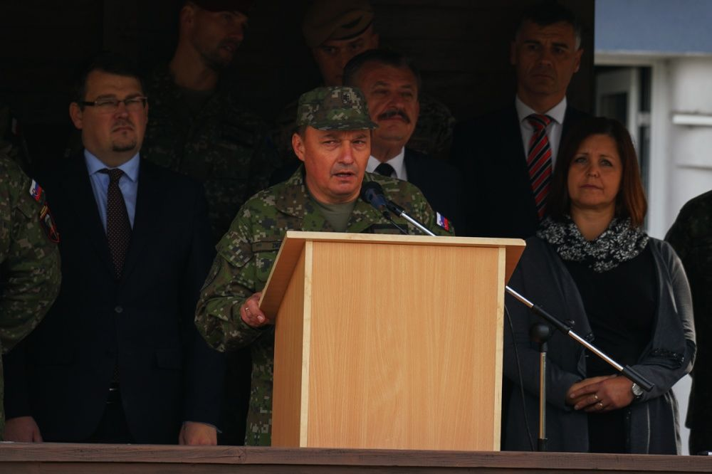 FOTO: Slávnostný akt prepodriadenia útvarov do pôsobnosti veliteľstva Síl pre špeciálne operácie, foto 21